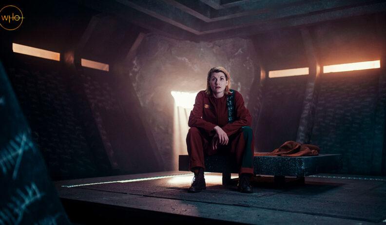 Trzynasta Doktor w swojej celi