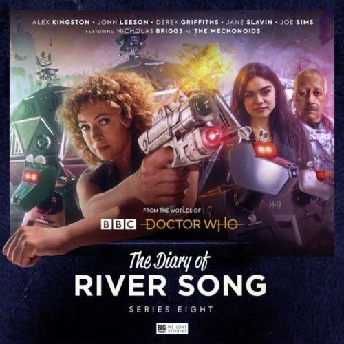 Alex Kingston pamiętnik River song seria 8
