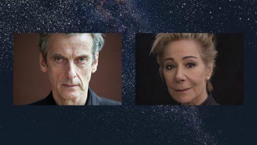 Peter Capaldi i Wanamaker, skaner międzywymiarowy doctor who