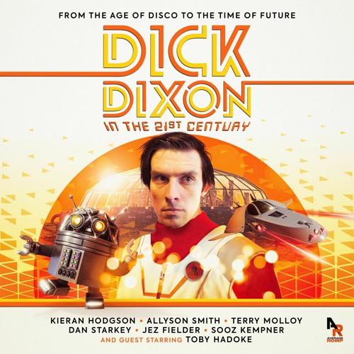 okładka dick dixon in the 21st century, skaner międzywymiarowy doctor who