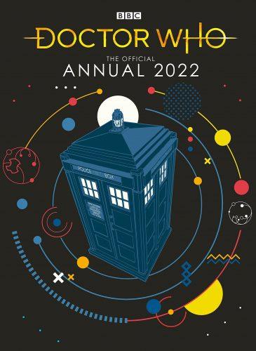 okładka the official annual 2022 bez Jodie, za to z TARDIS