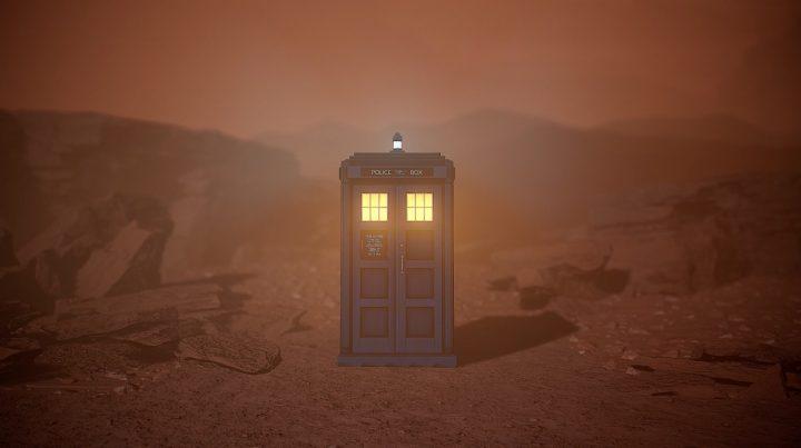 "TARDIS w grze ""The Edge of Reality"""